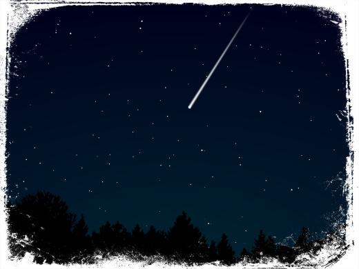 O que significa sonhar com meteoro ou meteorito