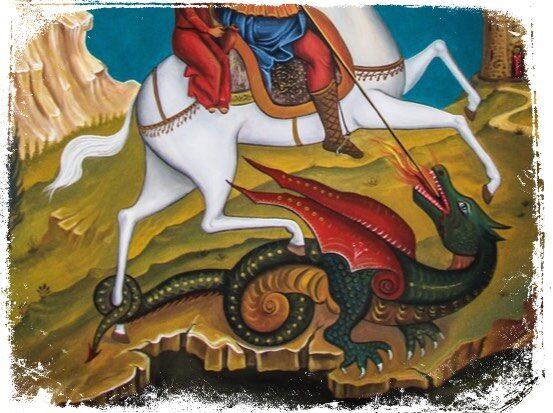Significado de sonhar com espada de São Jorge matando um dragão