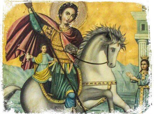 Qual o significado de sonhar com São Jorge no cavalo