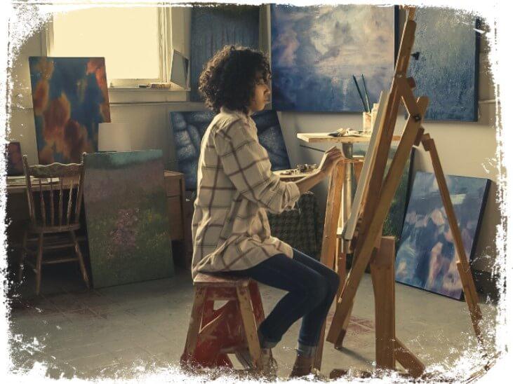 Sonhar com artista pintando ou desenhando