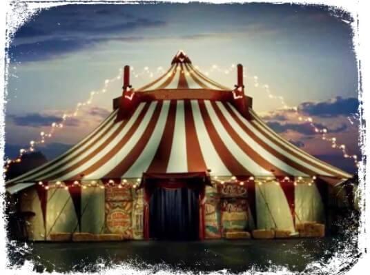 Sonhei com circo o que significa